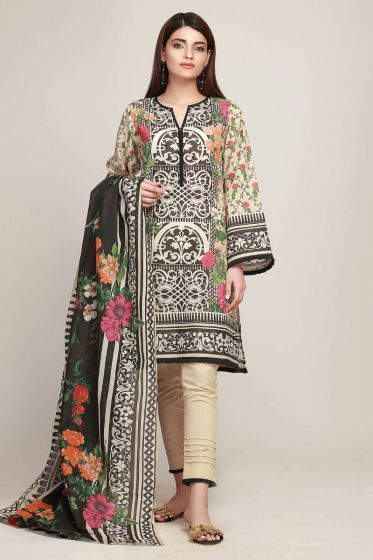 Khaadi Latest Summer Lawn Dresses Designs Collection consists of best printed & embroiderd 2 pc, 3 piece suits, kurtis and single shirts!