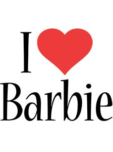 Barbie Logo Name Logo Generator Kiddo I Love Colors Style