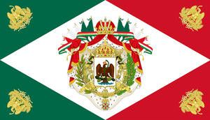 Flag Of The Mexican Empire By Ieph Historical Flags Flag Art Flag