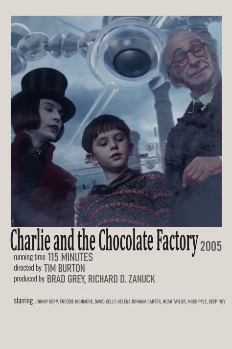 Charlie and the Chocolate Factory mp Movie Minimalist