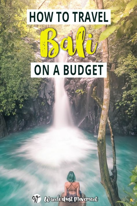 A week in Bali can cost as little as R 1,500. Here's how to travel Bali on a budget and explore this tropical island paradise without breaking the bank! | How to Travel to Bali on a Budget | Wanderlust Movement