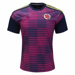 huge selection of 16b27 79bd9 2018 World Cup Jersey Colombia Replica Pre-match Shirt ...