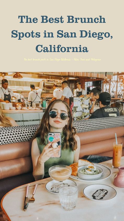 The best brunch posts in San Diego California - Palm Trees and Pellegrino