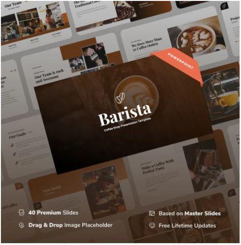 Barista - Coffee Shop Power Point Presentation