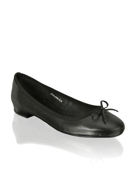 schuhe pumps keilabsatz shoes flats damen wedges ballerinas ballerina schwarz