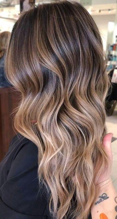 Balayage Haar Lassen Sie Ihr Langes Haar Kuhl Und Attraktiv Aussehen Lange Haare Haare Balayage Braun Blond Balayage