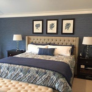 Navy Blue Bedding With Gray Walls Navy Blue Bedding With Gray Walls Navy Blue Bedding Navy In 2020 Blue Master Bedroom Blue Bedroom Decor Navy Blue Bedrooms