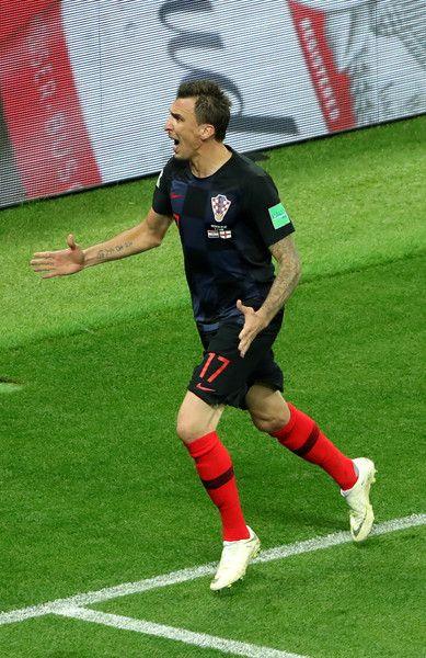 Mario Mandzukic Photos Photos England Vs Croatia Semi Final 2018 Fifa World Cup Russia Mario Mandzukic Fifa World Cup Fifa