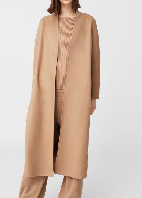 100% cashmere coat   MANGO