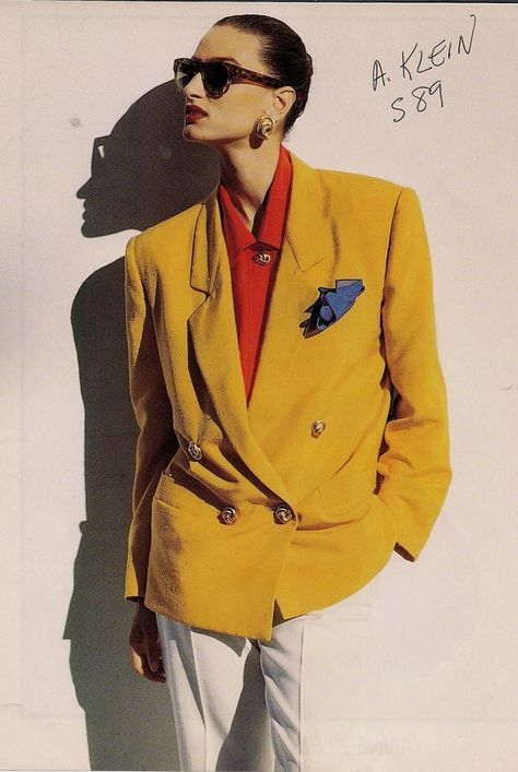 Louis Dell'Olio for Anne Klein, Spring 1989 Power Dressing.