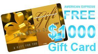 Get A Free 1000 Amex Gift Card Thing 1 Tipos De Seguridad Punto De Venta