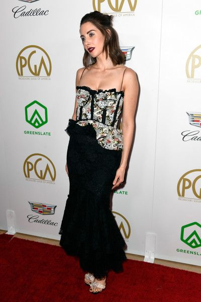 Alison Brie attends the 30th annual Producers Guild Awards at The Beverly Hilton Hotel.