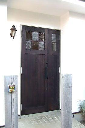 アンティーク面格子入り玄関ドア 玄関ドア ドア 玄関