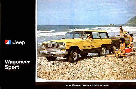 Jeep Wagoneer Sport 1982