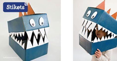 a18d32ba96 Mascaras de cartón.Monstruos. Mascaras de cartón.Monstruos. Mehr dazu. 8  ideas para crear tu ...