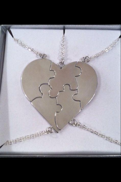 Collier A Piece Of My Heart en argent par CopperfoxGemsJewelry, $40.00