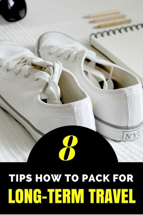 8 Tips How to Pack for Long-Term Travel - MissAbroad