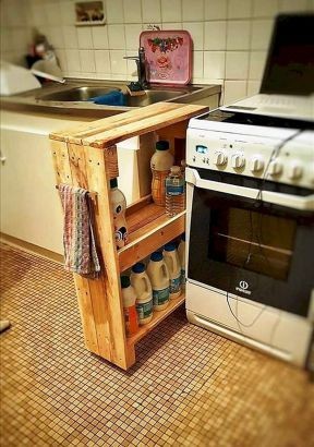 15 Stunning Diy Kitchen Storage Solutions For Small Space And Space Saving Ideas Freshouz Com Diy Kitchen Storage Kitchen Storage Solutions Modern Kitchen Storage