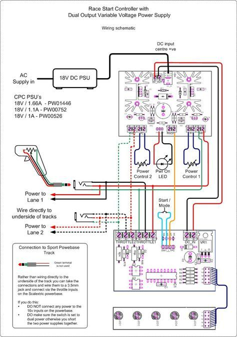 Google Image Result For Http Picprojects Org Uk Projects Psu Images Slotcar Psu Wiring Jpg Electricidad