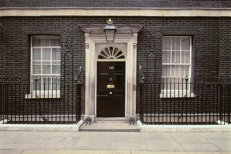 Photographic Print Number 10 Downing Street 24x16in Number