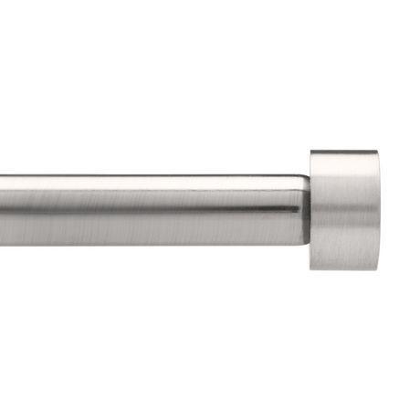 Umbra Cappa 3 4 Rod 72 144 Nickel Stl Nickel Steel Curtain Rods