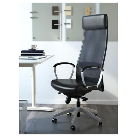 Markus Office Chair Black Glose Robust Black Cheap Office
