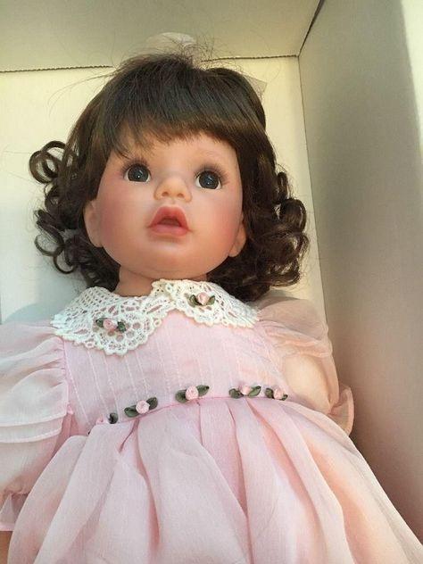 "Susan Wakeen ""Mommy's Little Angel"" Doll 18"" Blonde COA"