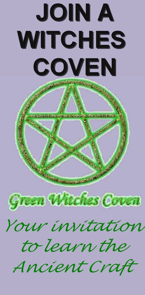 Join a Coven of Witches | Witch coven, Coven, Wiccan rede