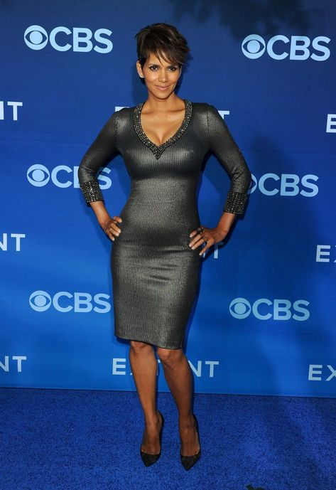 Halle Berry's at the premiere of Extant