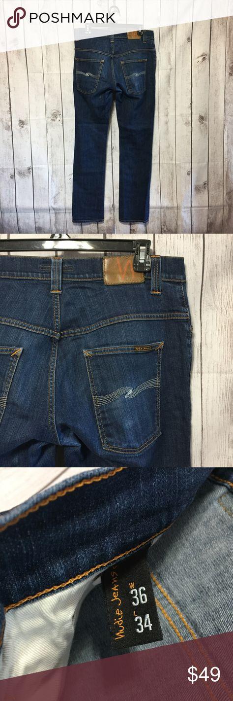 29b584f9b76 Nudie Jeans Thin Finn Organic Dry Ecru Embo Mens Nudie Jeans Thin Finn  Organic Dry Ecru