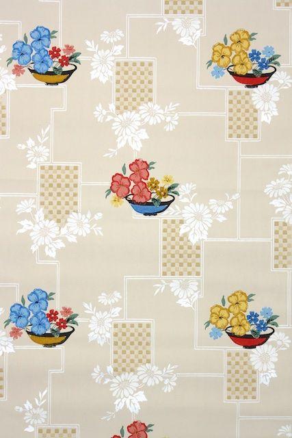 1940s Kitchen Vintage Wallpaper Wallpapers Vintage Vintage Wallpaper Kitchen Wallpaper Patterns