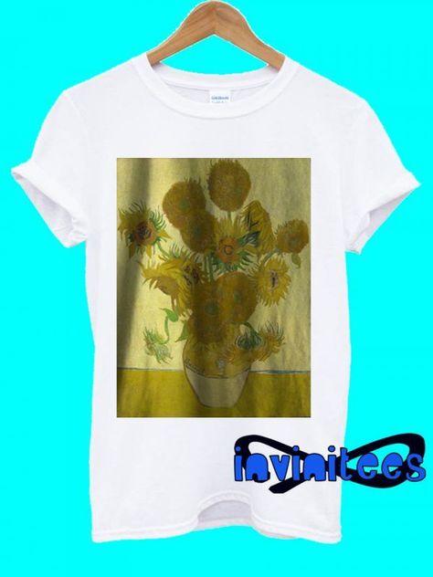 Vincent Van Gogh Sunflowers 1888 T-Shirt- Vincent Van Gogh Sunflowers 1888 T-Shirt  Vincent Van Gogh Sunflowers 1888 T-Shirt  -#DressAccessorieschristmasgifts #DressAccessoriespictures #DressAccessoriespolyvore #DressAccessoriesshopping #DressAccessoriessnowboots #DressAccessorieswinterstyle #eveningDressAccessories #straplessDressAccessories