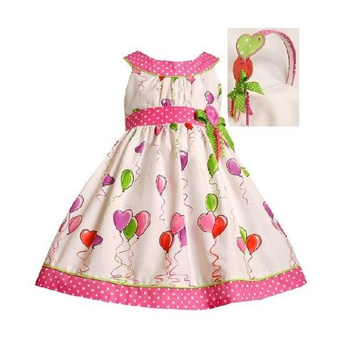 Bonnie Jean Girl Valentines Day Rhinestone Heart Dress Leggings 2T 3T 4T Toddler