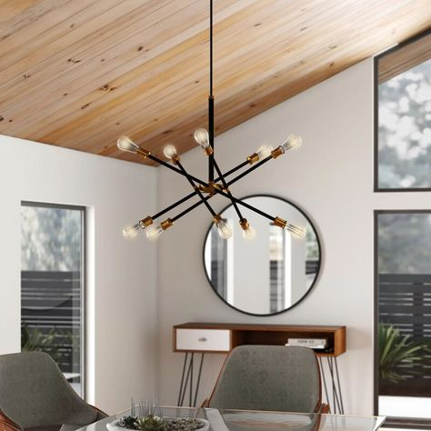 Modern and Contemporary Chandeliers Modern Dining Room Lighting, Contemporary Bathroom Lighting, Contemporary Light Fixtures, Dining Room Light Fixtures, Mid Century Modern Lighting, Contemporary Chandelier, Ceiling Fixtures, Mid Century Light Fixtures, Contemporary Design