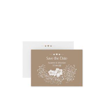 Save The Date Visitenkarte Aus Der Kollektion Jena Mit