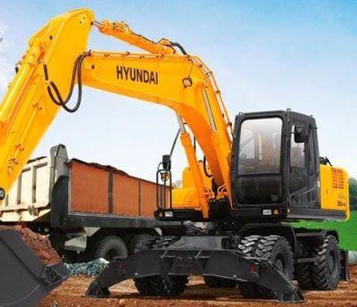 Hyundai Wheel Excavator Robex 200w 7a R200w 7a Complete Manual Hyundai Excavator Repair Manuals