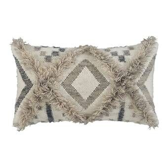 Ellijay Square Pillow Cover And Insert Throw Pillows Boho Throw Pillows Lumbar Pillow