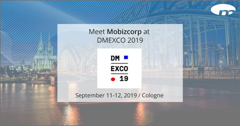 Mobizcorp at DMEXCO 2019 in Cologne