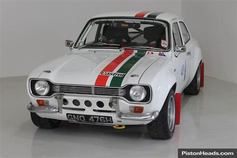 Ford Escort RS1600 Rally (1970). This iconic car was originally a factory press demonstrator. It was converted to a very successful historic race car before being meticulously rebuilt to FIA Group 2 tarmac rally specification with a 2.0 litre Alan Sherwood BDA, Brian Wileman ZF box, ZF LSD and fully floating Atlas. Shell authenticated by the RS1600 Registrar. Maintained and run to the highest standards by Motorscope, with all major components lifed.
