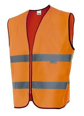 Chaleco De Alta Visibilidad Naranja Fluor L Velilla Leroymerlin Es Chalecos Vestuarios Deportivos Vestuario Laboral