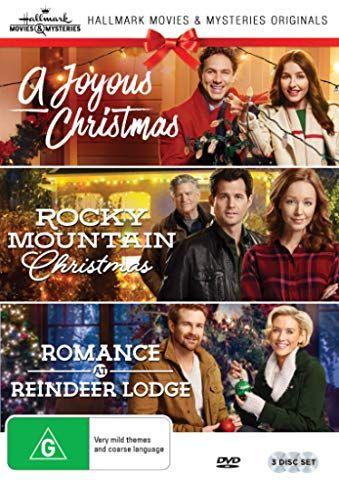 Hallmark Christmas 3 Film Collection A Joyous Christmas Rocky Mountain Christmas Romance At Reindee Christmas Romance Family Christmas Movies Christmas Movies