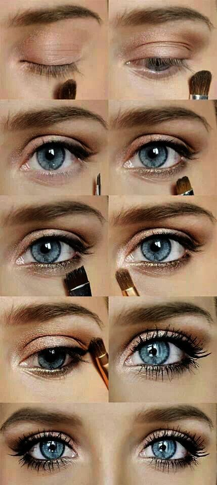 Under Eye Makeup Looks Cakey Against Eye Makeup Tips For Blue Eyes Over 50 Also Cool Eye Makeup Ideas Step By Ste Blue Eye Makeup Eye Makeup No Eyeliner Makeup