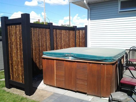 Bamboo Innovations Our Privacy Screens Portfolio For The Home Pinterest Fence Wall Ideas And Walls