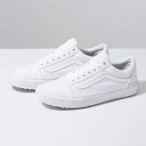 Vans Skool White Sports Shoes For Men