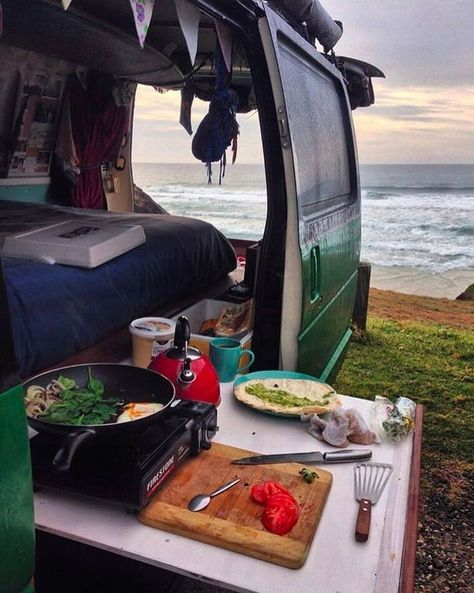 Need some inspiration for your campervan kitchen? Here are 9 swoonworthy campervan kitchens that make cooking for van life a breeze.