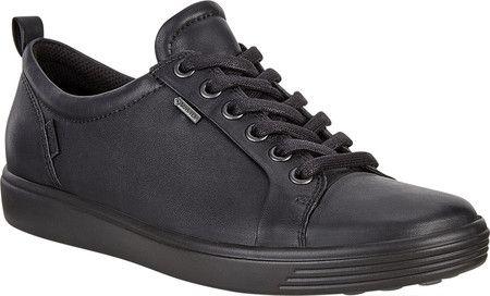 Womens ECCO Soft 7 GORE-TEX Tie Sneaker