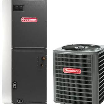 Goodman Gsx140361 Aruf37c14 3 Ton 14 Seer Air Conditioner Split System R410a Re In 2020 Air Conditioning Installation Heat Pump Air Conditioner Air Conditioning System