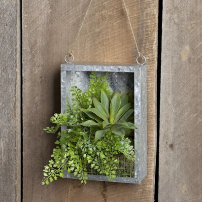 Indoor Hanging Wall Garden Planter   Rectangle | Garden Ideas | Pinterest |  Walled Garden, Garden Planters And Planters