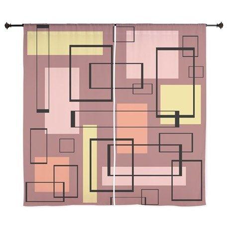 Retro Mid-Century Curtains