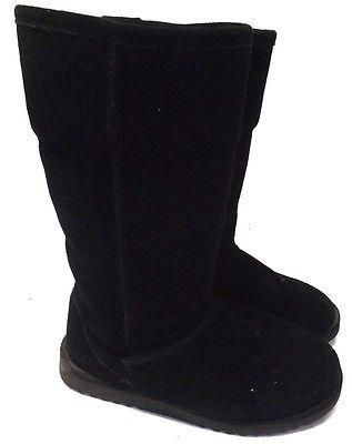 xihilaration for target womens boots 6 m black suede leather mid